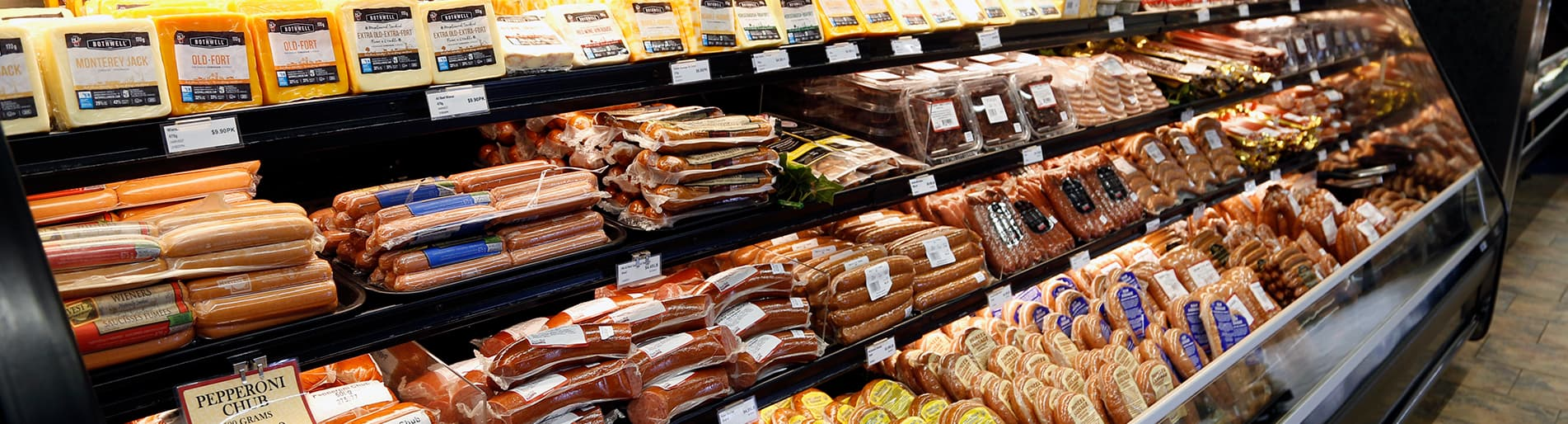 deli, meat, cheese, salads, soups, sides