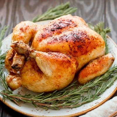 Whole Roasting Chicken All Products Roast