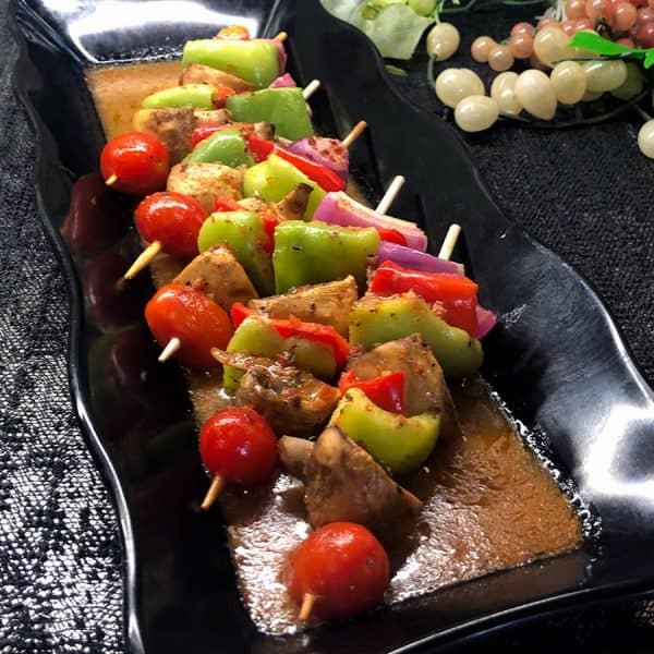 Vegetable Kabob All Products No Gluten Added