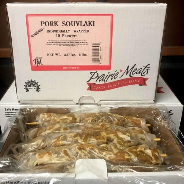 Pork Souvlaki – Frozen All Products Kabobs