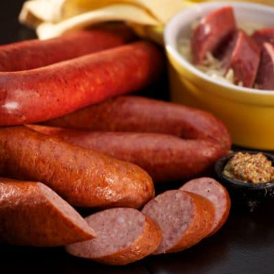 Andouille Sausage All Products No Gluten Added