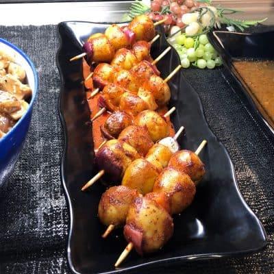 Tater Bobs (Seasoned Potato Kabob) All Products Kabobs