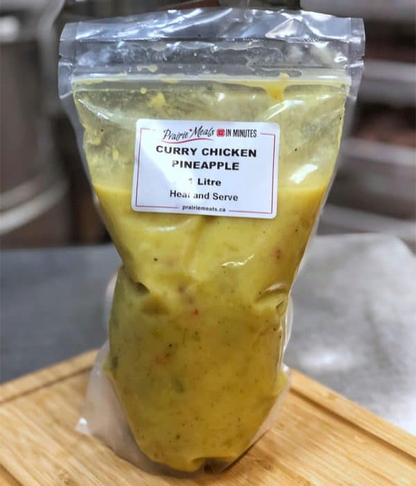 Curry Chicken Pineapple All Products No Gluten Added