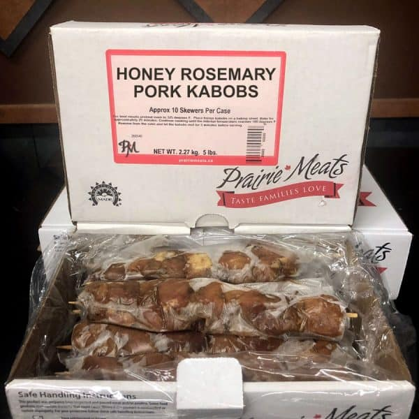 Honey Rosemary Pork Kabob All Products Kabobs