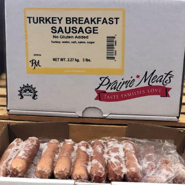Turkey Breakfast Sausage All Products No Gluten Added