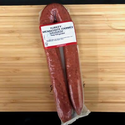 Turkey Mennonite Farmer Sausage All Products Sausage / Wieners