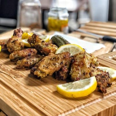 Lemon Pepper Chicken Wings All Products Meals-in-Minutes