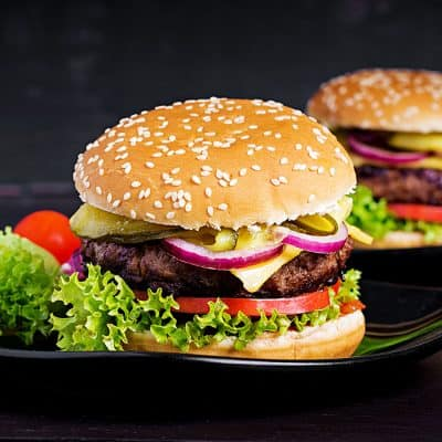 Seasoned Beef Burgers All Products Burgers / Meatballs