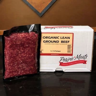 Organic Lean Ground Beef All Products Ground Meats