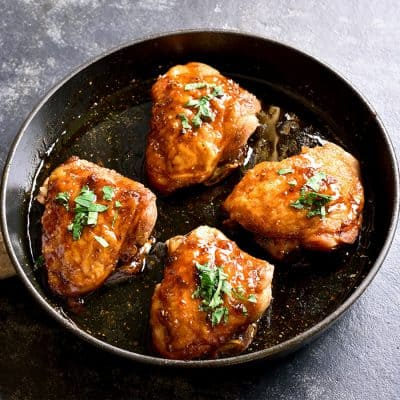 Honey Garlic Chicken Thigh All Products [tag]