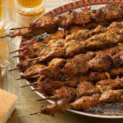 Lamb Souvlaki All Products Kabobs