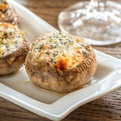 Neptune Stuffed Mushroom All Products Christmas