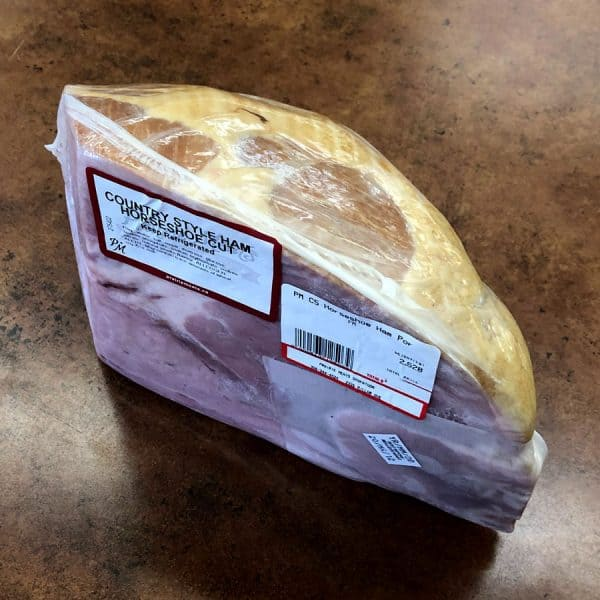 Country Style Horseshoe Ham All Products Christmas