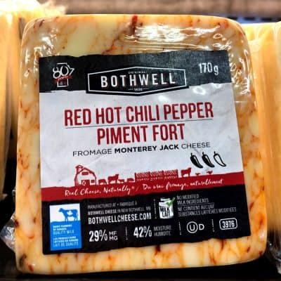 Bothwell Red Hot Chili Pepper Cheese All Products Cheese