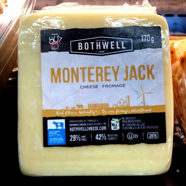 Bothwell Monterey Jack Cheese All Products Cheese