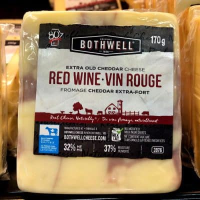 Bothwell Red Wine Cheddar Cheese All Products Cheese