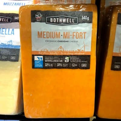 Bothwell Medium Cheddar Cheese All Products Cheese