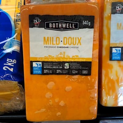 Bothwell Mild Cheddar Cheese All Products Cheese