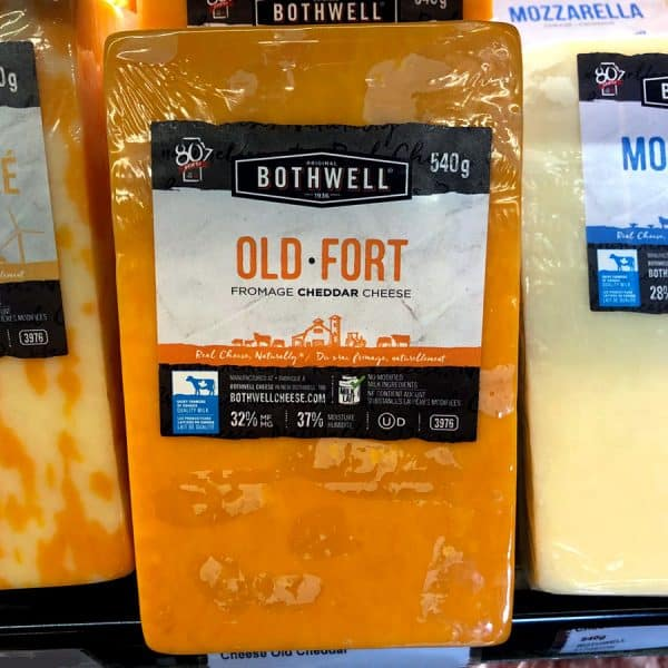 Bothwell Old Cheddar Cheese All Products Cheese
