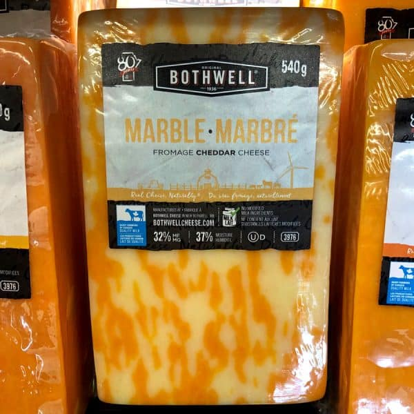Bothwell Marble Cheddar Cheese All Products Cheese