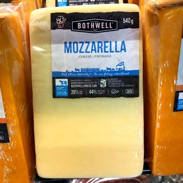 Bothwell Mozzarella Cheese All Products Cheese
