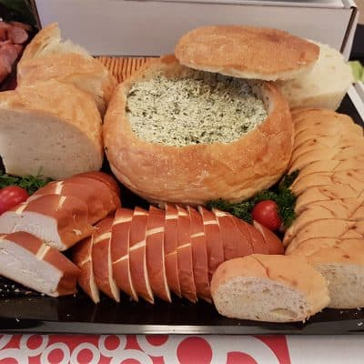 Spinach Dip Platter All Products Trays & Platters