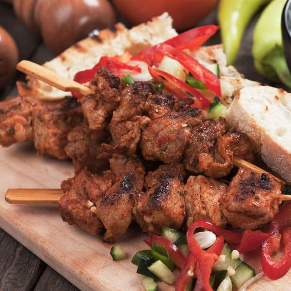 Sweet Mesquite Pork Kabob All Products Kabobs
