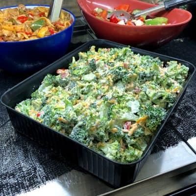 Broccoli and Cheddar Salad All Products Salad