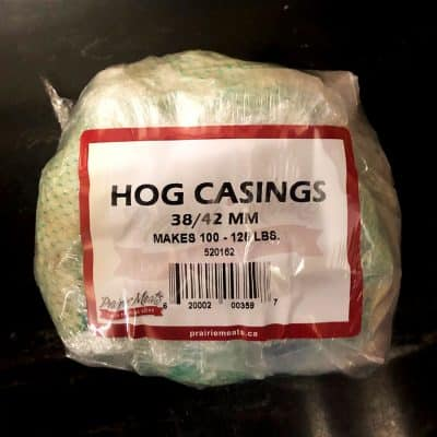 Hog Casings 38/42 All Products Dry Goods / Grocery
