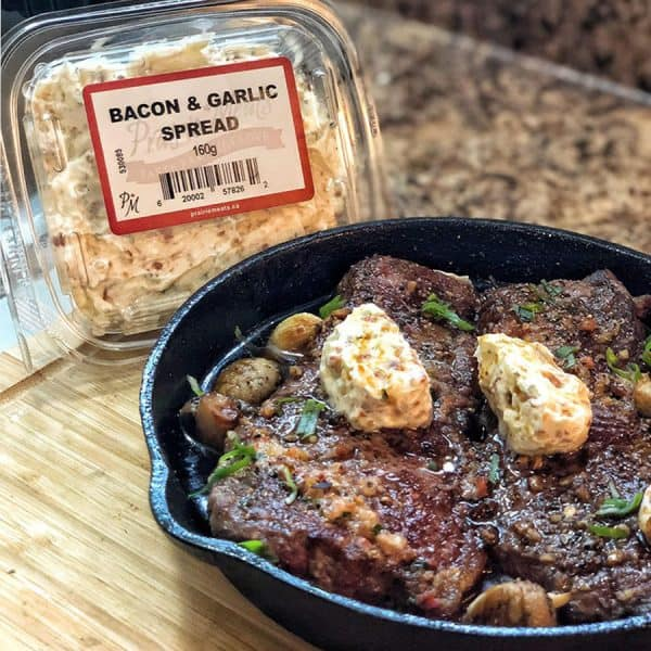 Bacon and Garlic Spread All Products No Gluten Added