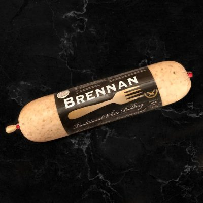 Brennan Traditional White Pudding All Products Sausage / Wieners