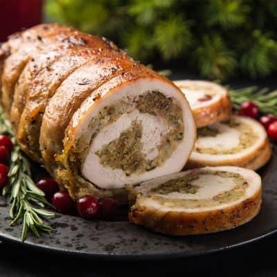 Boneless Stuffed Turkey All Products Christmas