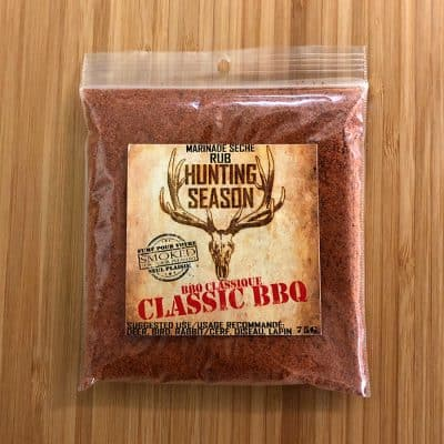 Hunting Season Classic BBQ Rub All Products Dry Goods / Grocery