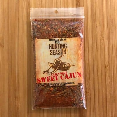 Hunting Season Sweet Cajun Rub All Products Dry Goods / Grocery