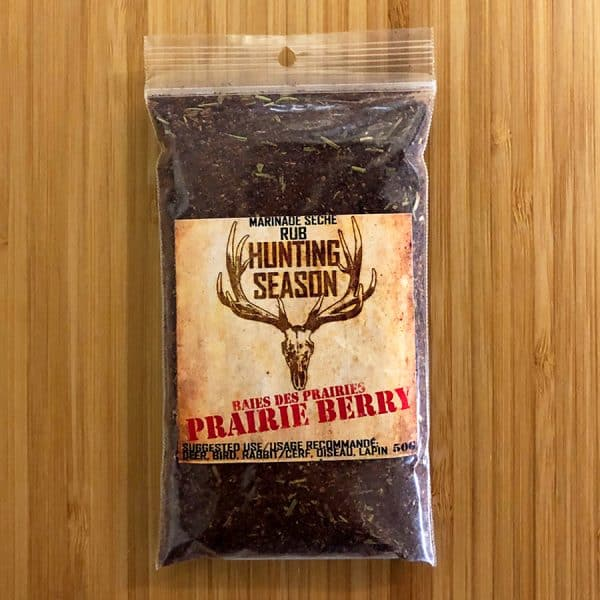 Hunting Season Prairie Berry Rub All Products Dry Goods / Grocery