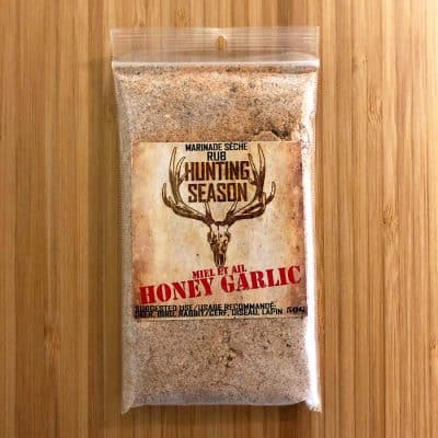 Hunting Season Honey Garlic Rub All Products Dry Goods / Grocery