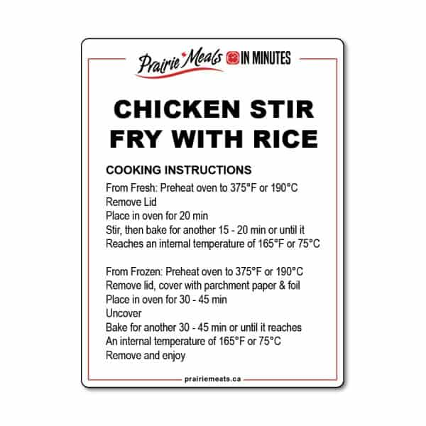 Chicken Stir Fry All Products Meals-in-Minutes