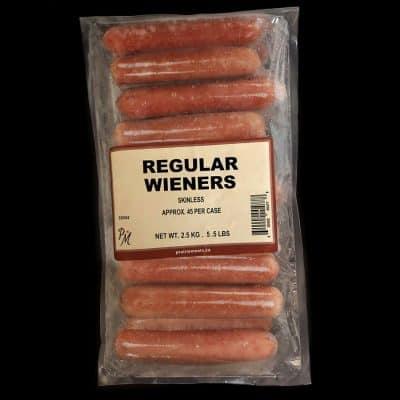 Skinless Regular Wieners All Products Sausage / Wieners